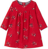 Petit Bateau Gingham-print knitted dress 3-36 months