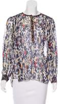 Isabel Marant Silk Printed Blouse
