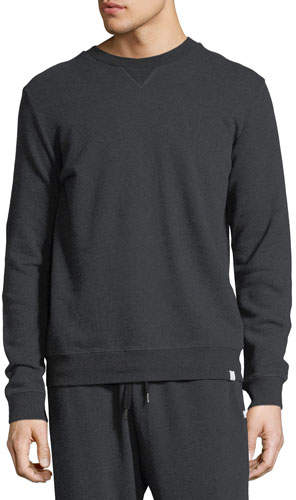 Derek Rose Devon 1 Charcoal Men's Sweatshirt