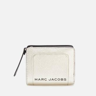 Marc Jacobs Women's Mini Compact Wallet - Platinum