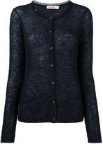 Sun 68 fine knit cardigan - women - Polyamide/Alpaca/Merino - M