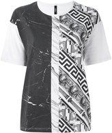 Versus 'Marble & Elements' T-shirt