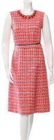 Marc Jacobs Embellished Patterned Dress