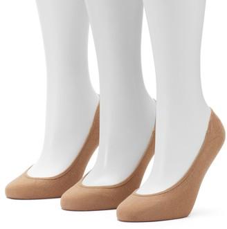 Apt. 9 Women's 3-pk. Low-Cut Cotton Liner Socks