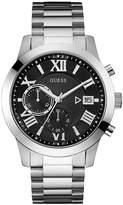 Guess Men's Chronograph Silver Tone Bracelet Watch