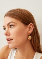 MANGO Two pieces earrings gold - One size - Women