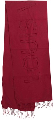 Louis Vuitton Red Cashmere Scarves