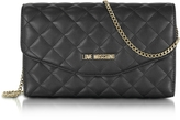 Love Moschino Evening Quilted Eco Leather Crossbody Bag