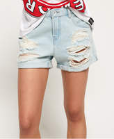 Superdry Steph Boyfriend Shorts
