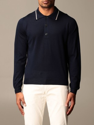 Missoni Polo Shirt In Basic Cashmere