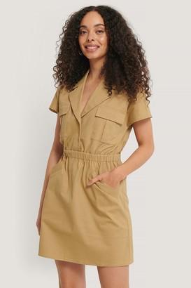 NA-KD West Pocket Dress