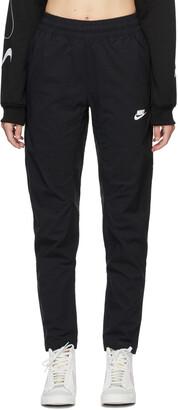 Nike Black Woven Sportswear Lounge Pants