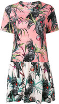 Paul Smith graphic print dress - women - Cotton - 40