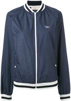 MAISON KITSUNÉ windbreaker bomber jacket - women - Polyester - XS