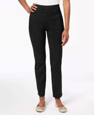 Charter Club Cambridge Pull-On Ponte Pants, Regular and Short Lengths, Created for Macy's