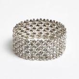 River Island Womens Silver crystal embellished bracelet