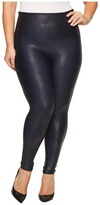 Spanx Plus Size Faux Feather Leggings Women's Casual Pants