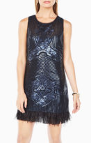 BCBGMAXAZRIA Caterina Sequined Dress