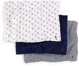 Ralph Lauren Infant Boys' Nautical Motif Swaddle 3-Piece Set