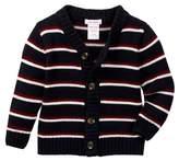 Joe Fresh Stripe Knit Cardigan (Baby Boys)