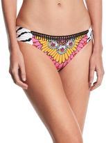 Trina Turk Ibiza Shirred-Side Swim Bottom