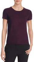 C by Bloomingdale's Short-Sleeve Cashmere Sweater
