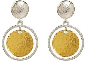 Gurhan 24kt gold Lush drop earrings