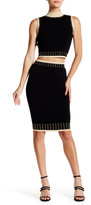 Wow Couture Two-Piece Grommet Tank & Pencil Skirt Set