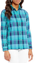 Pendleton Astoria Plaid Roll Sleeve Shirt