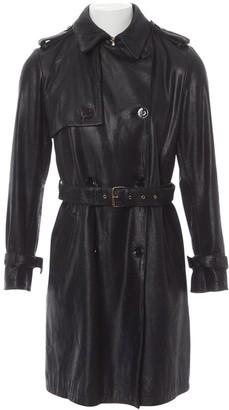Borbonese Black Leather Jackets