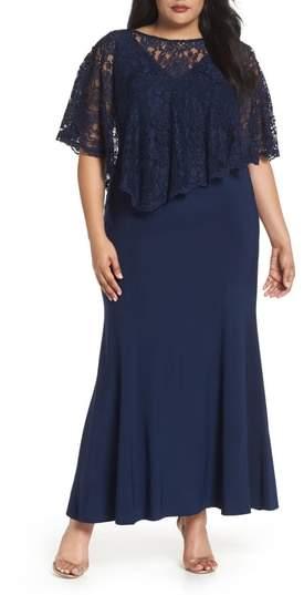 Decode 1.8 Lace Poncho Dress
