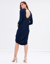 Gary Bigeni Felipe Twist Hem Dress