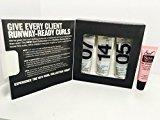Redken Curl Collection Travel Kit : Ringlet 07 1 oz , Curl Wise 14 1oz & Soft Spin 07 1 oz.Free Starry Sexy Lip Plumping Gloss 10ml