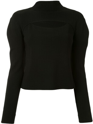 Dion Lee Stirrup Cutout Top