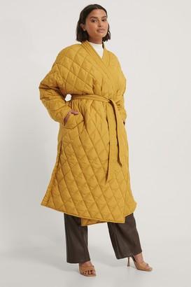 NA-KD Quilted Kimono Coat