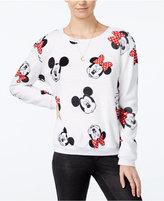 Disney Juniors' Mickey & Minnie Mouse Plush Sweatshirt