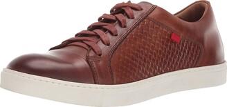 Marc Joseph New York Men's Geuine Leather Waverly Street Criss Cross Sneaker