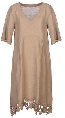 LFDL LA FABBRICA DEL LINO Knee-length dress