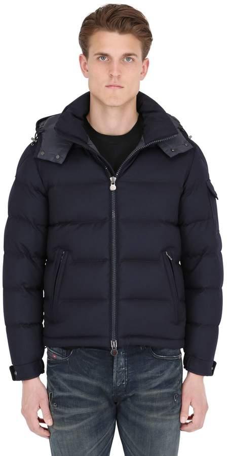 Moncler Montgenevre Light Flannel Down Jacket
