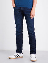 Stone Island Skinny mid-rise jeans