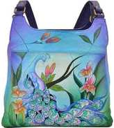 Anuschka Women's ANNA by Hand Painted Medium Hobo 7001