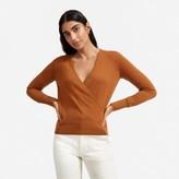 Everlane The Cashmere Wrap Sweater