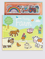 Marks and Spencer Fuzzy Farm Book