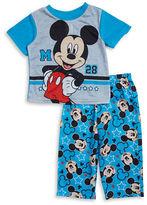 AME Sleepwear Boys Mickey Mouse Pajama Set