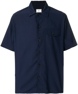 Ami Paris Camp Collar Short Sleeves Shirt