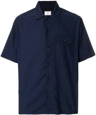 Ami Camp Collar Short Sleeves Shirt