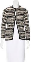 M Missoni Knit Single Button Jacket