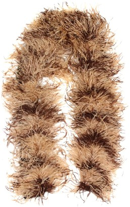 Miu Miu Feather, mohair and wool-blend scarf