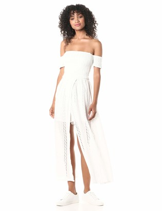 J.o.a. Women's Off The Shoulder Maxi Dress