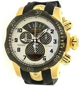 Invicta 16311 Subaqua Chronograph Silver Dial Black Polyurethane Mens Watch